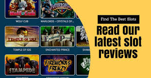Learn All About The Games in Reviews of New Slots Games